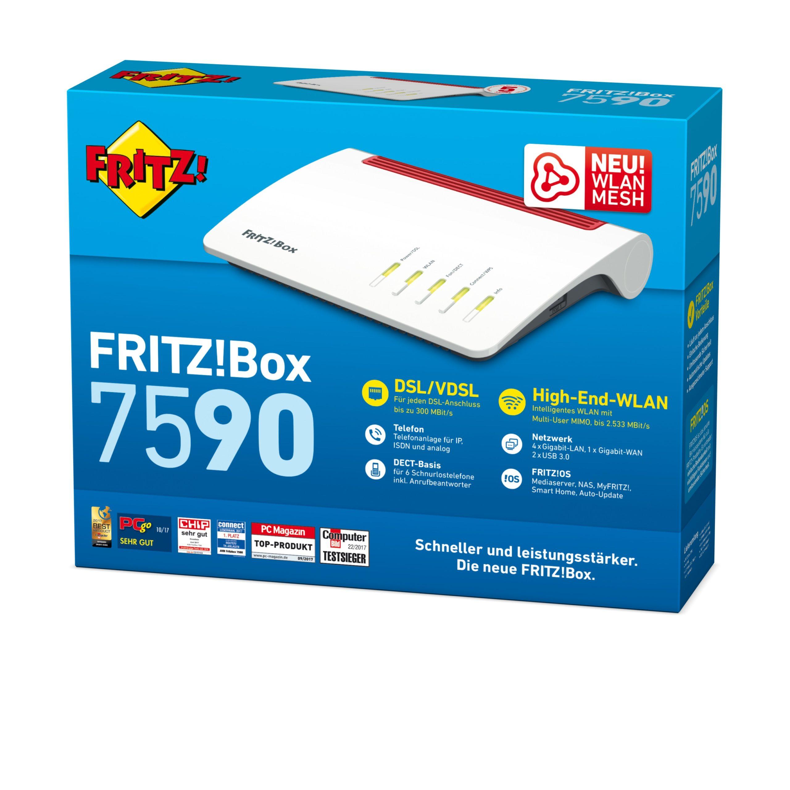 AVM FritzBox kaufen   schnell im netz.de