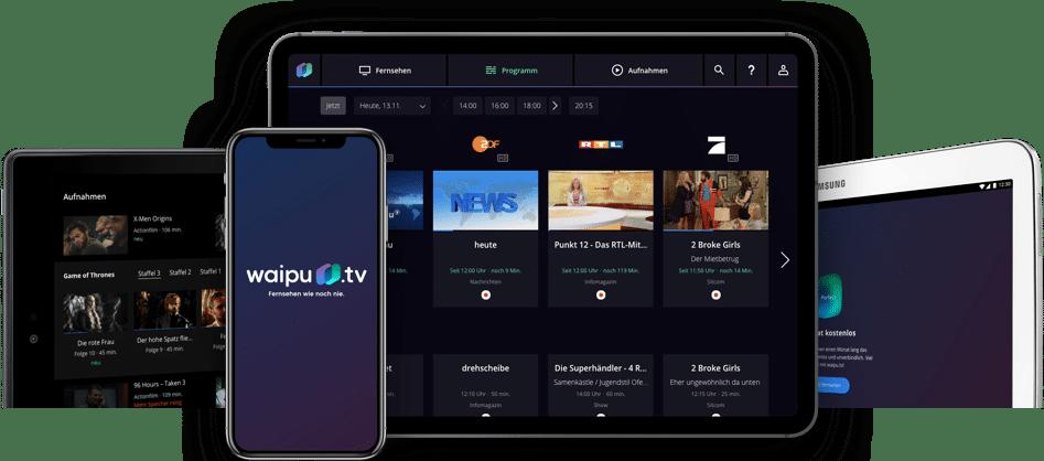Fernsehen mit WaiPuTV